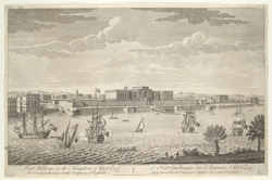 Fort William in the Kingdom of Bengal belonging to the East India Company of England 462